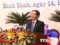 Ông Hồ Quốc Dũng được bầu làm Bí thư Tỉnh ủy Bình Định khóa XX