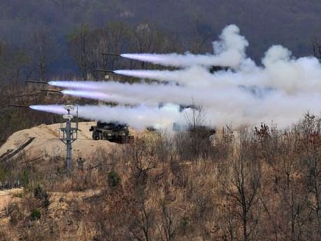 Hàn Quốc thông báo kế hoạch tập trận quân sự thường niên