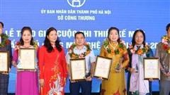 90 sản phẩm đạt giải cuộc thi thiết kế mẫu sản phẩm thủ công mỹ nghệ Hà Nội năm 2020