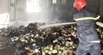 Khoanh vùng kịp thời dập tắt đám cháy tại kho đệm mút