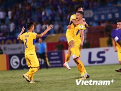 SLNA thắng kịch tính Hải Phòng, trụ hạng thành công ở V-League 2020
