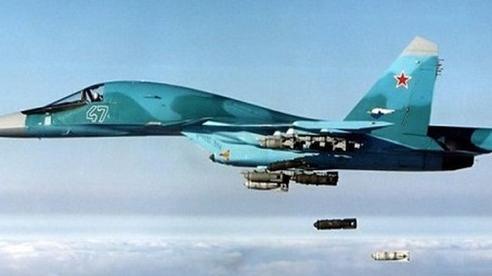 Nga không kích dội hỏa lực thiêu rụi căn cứ huấn luyện của khủng bố tại Syria