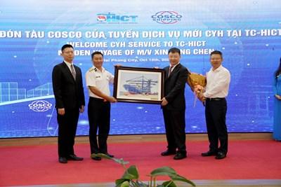 Mở tuyến dịch vụ nội Á mới từ Cảng Hải Phòng