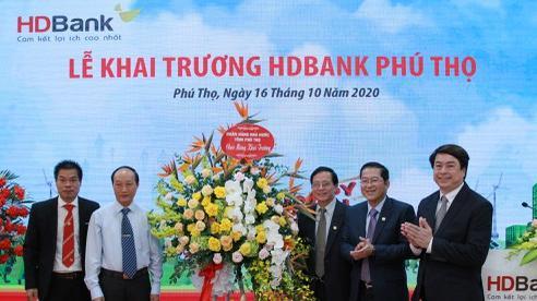 HDBank khai trương và đi vào hoạt động tại vùng đất Tổ - Phú Thọ