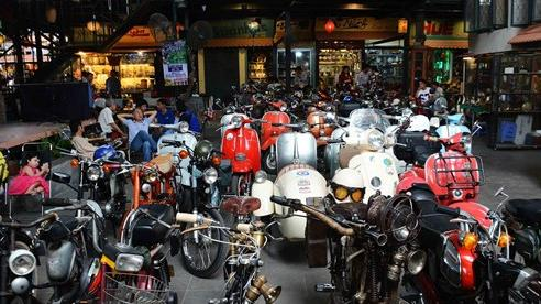 Tp.HCM: Những quán cà phê độc lạ cho người mê xe