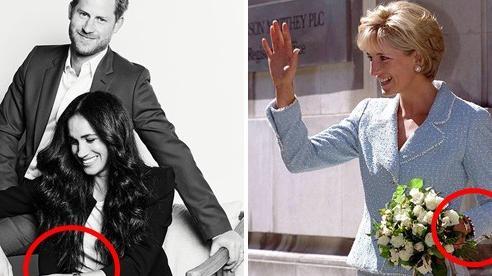 Nhà Sussex tung bức hình mới nhất mang phong cách khác biệt, Meghan diện đồ gần 1 tỷ đồng nhưng gây tranh cãi với chi tiết liên quan đến mẹ chồng