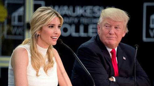 Ivanka là 'điểm yếu' của Tổng thống Donald Trump