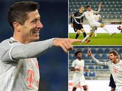 Bayern, Dortmund và RB Leipzig chạy đà thuận lợi cho Champions League