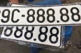 Đề xuất đấu giá biển số xe không mất phí, biển số đã đấu giá là tài sản cá nhân