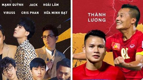 Jack lập đội bóng cùng Phan Mạnh Quỳnh, Hoài Lâm, Độ Mixi, ViruSs gây quỹ từ thiện cho miền Trung bão lũ