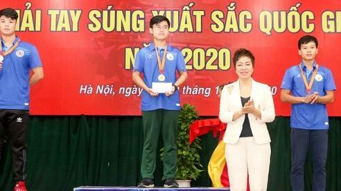 Bế mạc Giải Tay súng xuất sắc quốc gia 2020: Đoàn Quân đội giành ngôi cao nhất