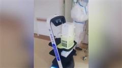 Robot phát hiện COVID-19 trong không khí tại bệnh viện Trung Quốc