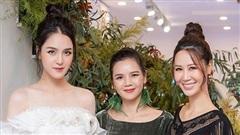 Á hậu Hoàng Anh xinh đẹp đến chúc mừng NTK La Phạm