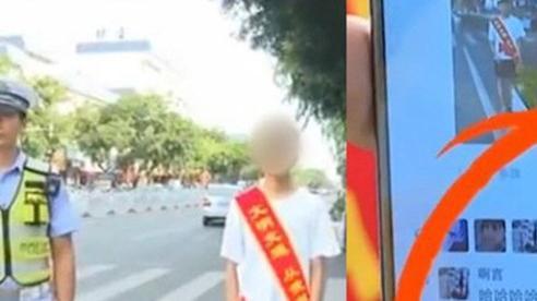 Video: CSGT 'phạt' đăng status được 30 like mới cho đi, thanh niên ngậm ngùi nhìn danh sách bạn bè