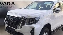Lộ diện hình ảnh đầu tiên của Nissan Navara NP300 2021