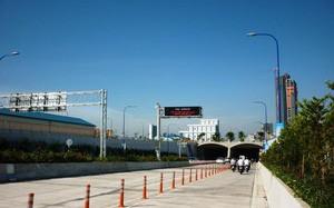 Hai ngày 24 - 25, cấm xe qua hầm sông Sài Gòn