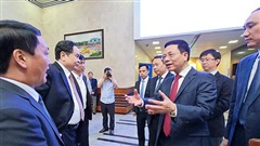 Bộ TT&TT hợp tác với Mặt trận Tổ quốc Việt Nam về chuyển đổi số