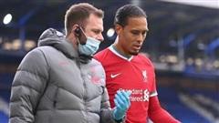 Liverpool xác nhận tin dữ phẫu thuật Van Dijk