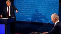 Tránh tình trạng lộn xộn, ông Trump và Biden sẽ bị tắt mic trong cuộc tranh luận cuối cùng
