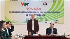 5 đề tài đoạt giải Nhất Giải thưởng Sáng tạo khoa học - công nghệ Việt Nam năm 2019