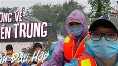 Streamer Anh Đầu Hộp dấn thân vào vùng lũ cứu trợ đồng bào miền Trung