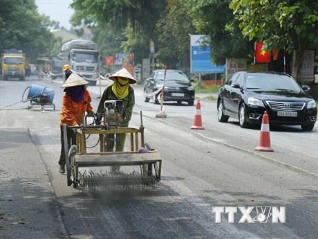 Hoàn thành sửa chữa hơn 1,3 triệu m2 hằn lún trên tuyến Quốc lộ 1