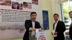 Báo Kinh tế & Đô thị phát động 'Chung tay ủng hộ đồng bào vùng lũ miền Trung'
