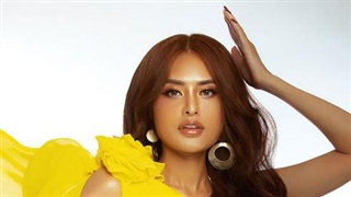 Hoa hậu Dy Khả Hân khác lạ trong bộ ảnh đón tuổi mới