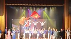 Đoàn Thanh niên Bộ VHTTDL tham dự 'Liên hoan các nhóm nhạc tuyên truyền ca khúc cách mạng'