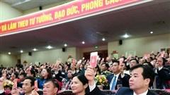 48 đồng chí trúng cử Ban Chấp hành Đảng bộ tỉnh Ninh Bình khóa XXII
