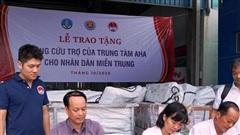 Trung tâm AHA viện trợ nhân dân vùng lũ Thừa Thiên Huế và Quảng Trị