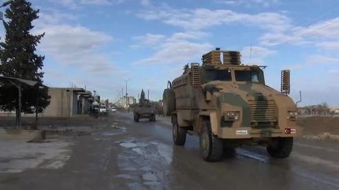 Tình hình Syria: Hành động 'lạ' của quân đội Thổ Nhĩ Kỳ ở Syria
