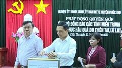 Nhiều địa phương của Hà Nội tiếp tục góp sức hỗ trợ đồng bào miền Trung