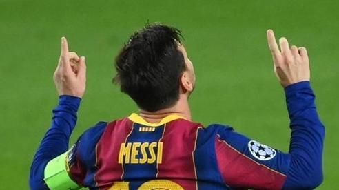 Messi lập kì tích vô tiền khoáng hậu ở Champions League