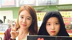Ngưỡng mộ 10 năm tình bạn của cặp đôi Kbiz IU - Yoo In Na