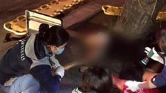 Hai cô gái lái xe lao vào gốc cây ven bờ hồ Hoàn Kiếm khiến xe máy văng 100m, 1 người tử vong, người còn lại nhập viện cấp cứu