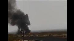 Tiêm F/A-18 Mỹ lao xuống đất khi diễn tập