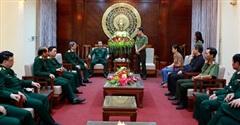 Trung tướng Nguyễn Tân Cương thăm hỏi, động viên thân nhân chiến sĩ công an hy sinh tại Quảng Trị