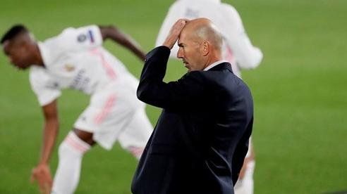 Real Madrid thua thảm sân nhà, Zidane thốt lời cay đắng