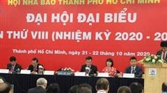 Nhà báo Trần Trọng Dũng tái đắc cử Chủ tịch Hội Nhà báo thành phố Hồ Chí Minh
