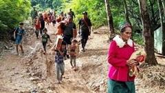 Nghệ An: Sơ tán 1.146 người dân khỏi vùng sạt lở nguy hiểm