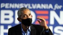 Bầu cử Mỹ 2020: Ông Obama kêu gọi cử tri giúp 'đối thủ' của Tổng thống Trump