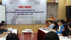 Đào tạo nghề cho 1.700 thanh niên Hà Nội phát triển sinh kế bền vững