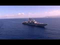 Tình hình Syria: Chiến hạm Nga 'diệt' tàu ngầm địch ngoài khơi Syria
