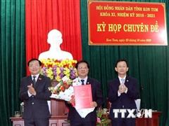Ông Lê Ngọc Tuấn được bầu giữ chức Chủ tịch UBND tỉnh Kon Tum