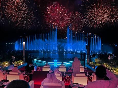 Dubai lập kỷ lục thế giới Guinness với đài phun nước lớn nhất thế giới