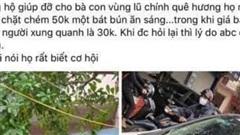 Hà Tĩnh: Phạt quán ăn 'chặt chém' khách giữa thời điểm lũ