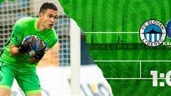 Thủ thành gốc Việt Filip Nguyễn bắt chính trong trận ra quân của Slovan Liberec ở Europa League