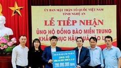 Bệnh viện HNĐK Nghệ An quyên góp hơn 200 triệu đồng, gói bánh chưng ủng hộ đồng bào miền Trung