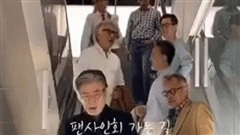 Xuất hiện hội 'anh chú trung niên' gây bão mạng xã hội nhờ khoảnh khắc đi trên thang cuốn, tất cả đều đã U60 nhưng phong độ thì bỏ xa đám thanh niên trai tráng